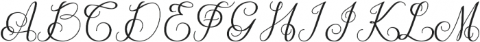 Manglayang otf (400) Font UPPERCASE