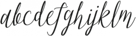 Manglayang otf (400) Font LOWERCASE