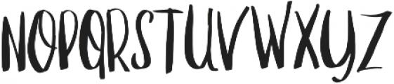 Manhattan Sans otf (400) Font UPPERCASE