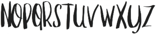 Manhattan Sans otf (400) Font LOWERCASE