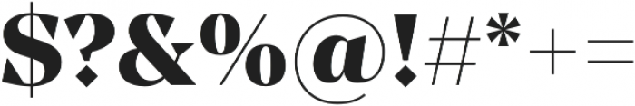 Manier Heavy otf (800) Font OTHER CHARS