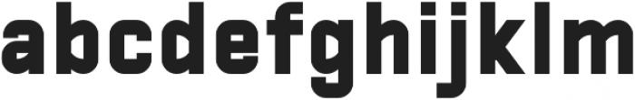Manifest Heavy otf (800) Font LOWERCASE
