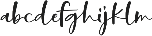 Manifestation otf (400) Font LOWERCASE
