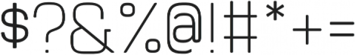 Manifold CF Demi Bold Oblique otf (600) Font OTHER CHARS