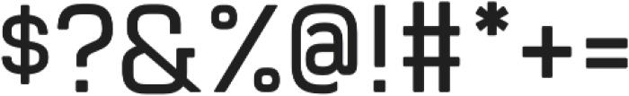 Manifold CF Extra Bold Oblique otf (700) Font OTHER CHARS