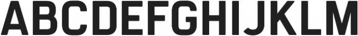 Manifold CF Light Oblique ttf (300) Font UPPERCASE