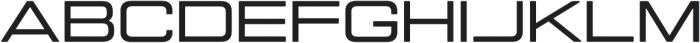 Manifold Extended CF Demi Bold otf (600) Font UPPERCASE