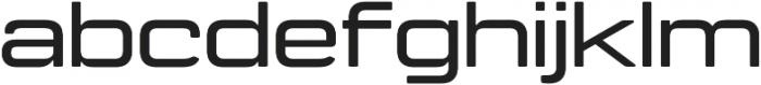 Manifold Extended CF Demi Bold otf (600) Font LOWERCASE