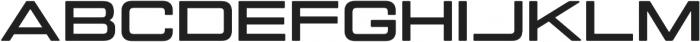 Manifold Extended CF Extra Bold otf (700) Font UPPERCASE