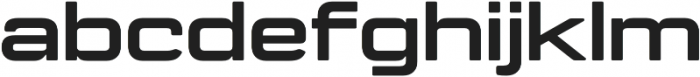 Manifold Extended CF Extra Bold otf (700) Font LOWERCASE