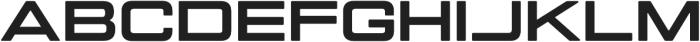 Manifold Extended CF Heavy otf (800) Font UPPERCASE