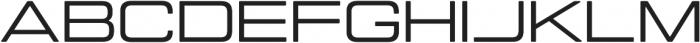 Manifold Extended CF Medium otf (500) Font UPPERCASE