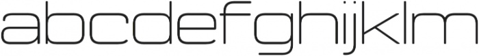 Manifold Extended CF Thin otf (100) Font LOWERCASE