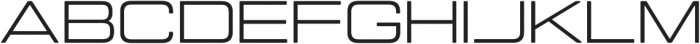 Manifold Extended CF otf (400) Font UPPERCASE