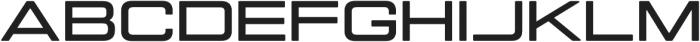 Manifold Extended CF otf (700) Font UPPERCASE