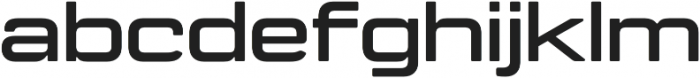 Manifold Extended CF otf (700) Font LOWERCASE