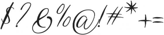 Manila&Jhones otf (400) Font OTHER CHARS