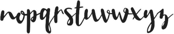 Manise otf (400) Font LOWERCASE