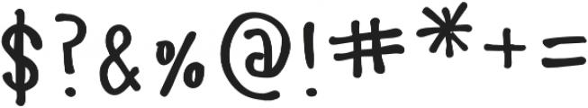 Manita Px Bold otf (700) Font OTHER CHARS