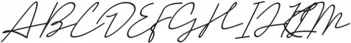Mansions Italic otf (400) Font UPPERCASE