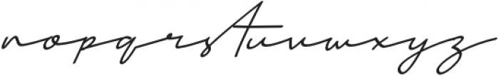 Mansions Italic otf (400) Font LOWERCASE