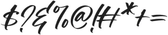 Manstromer Slant otf (400) Font OTHER CHARS
