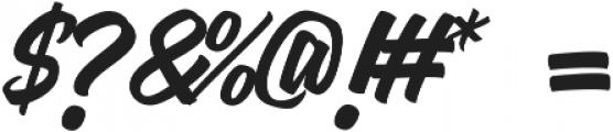 Mantan otf (400) Font OTHER CHARS