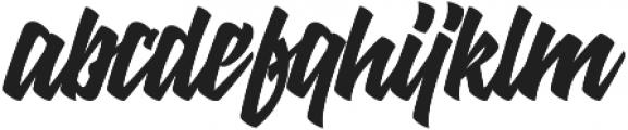 Mantan otf (400) Font LOWERCASE