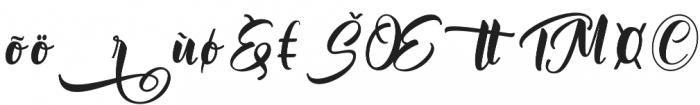 Mantera Alt1 Regular otf (400) Font UPPERCASE