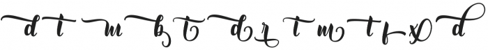 Mantera Alt1 Regular otf (400) Font LOWERCASE