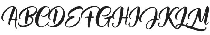 Mantera Regular otf (400) Font UPPERCASE