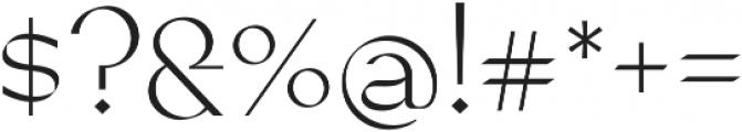 Mantra Alt ttf (400) Font OTHER CHARS