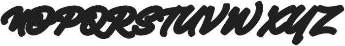 Mantra Block otf (400) Font UPPERCASE