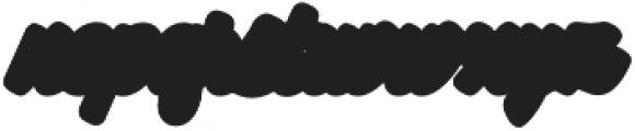 Mantra Block otf (400) Font LOWERCASE