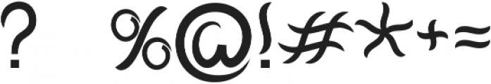 Mantra otf (400) Font OTHER CHARS