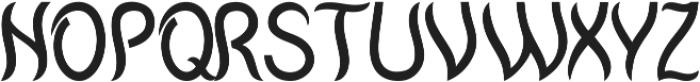 Mantra otf (400) Font UPPERCASE