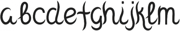 Mantra otf (400) Font LOWERCASE