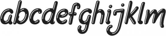 Manttiss otf (400) Font LOWERCASE