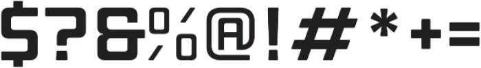 Manufaktur Expanded Bold otf (700) Font OTHER CHARS