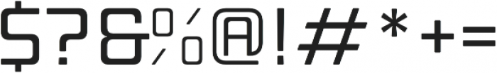Manufaktur Expanded Medium otf (500) Font OTHER CHARS