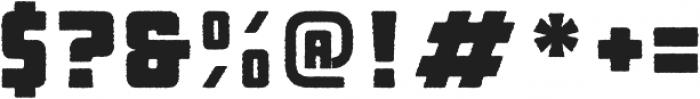 Manufaktur Rough Black otf (900) Font OTHER CHARS