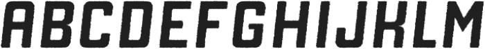 Manufaktur Rough Italic Bold otf (700) Font UPPERCASE
