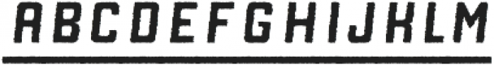 Manufaktur Rough Italic Bold otf (700) Font LOWERCASE