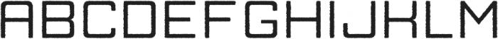 Manufaktur Rough Ultra Expanded Medium otf (500) Font UPPERCASE