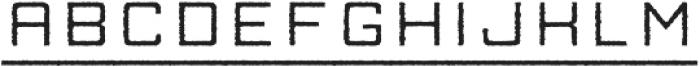 Manufaktur Rough Ultra Expanded Medium otf (500) Font LOWERCASE