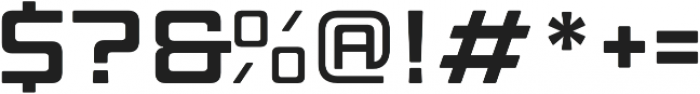 Manufaktur Ultra Expanded Bold otf (700) Font OTHER CHARS