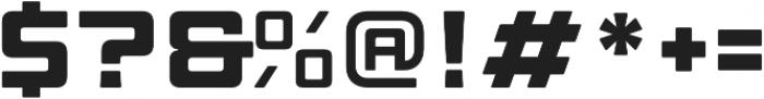 Manufaktur Ultra Expanded Extra Bold otf (700) Font OTHER CHARS