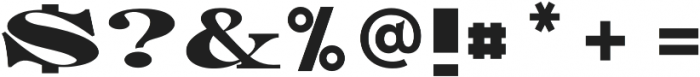 Manukao otf (400) Font OTHER CHARS