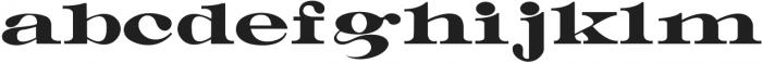 Manukao otf (400) Font LOWERCASE