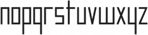 Manurewah otf (600) Font LOWERCASE